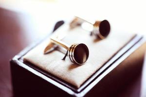 boutons de mariage pour le marié photo