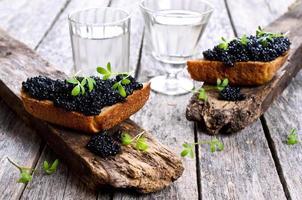 caviar noir photo