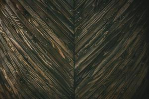 vue rapprochée du mur en bois