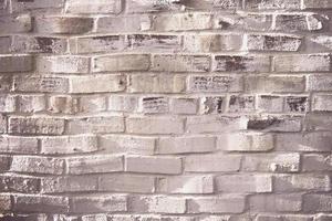 briques de mur en béton blanc et gris photo