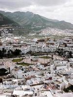 vue aérienne de la ville photo