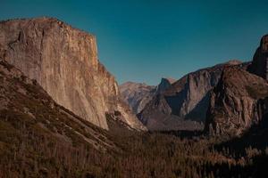 paysage de la vallée de Yosemite. photo