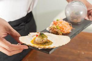 cuisine fusion japonaise photo