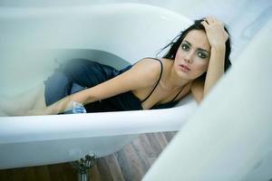 une baignoire photo