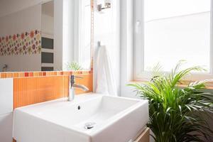 lavabo en céramique photo