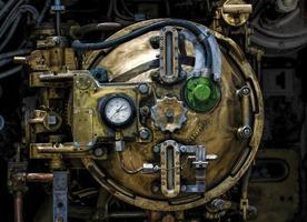 pièce de moteur d'avion photo