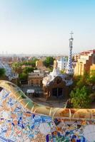 park guell, barcelone photo