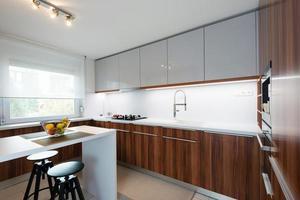 intérieur de cuisine moderne photo