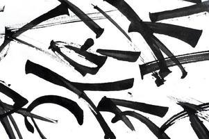 coups de pinceau abstraits