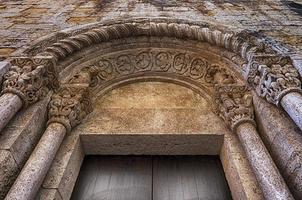 porte de l'église en espagne photo