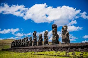 moai, île de Pâques