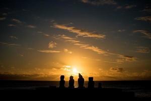 île de pâques, chili photo