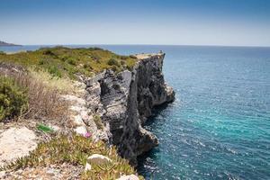falaises de malte photo
