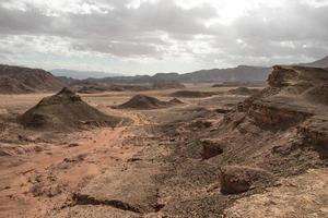 paysage désertique d'Israël