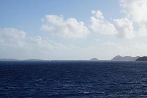 l'océan atlantique aux îles vierges britanniques