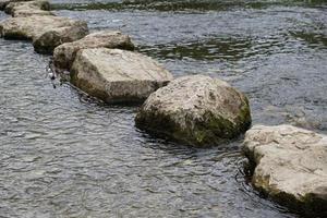 pierres dans le danube photo