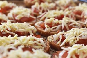 toasts végétariens faits maison