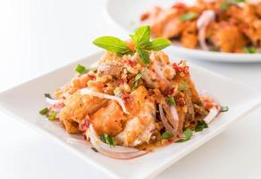 salade de poulet épicée photo