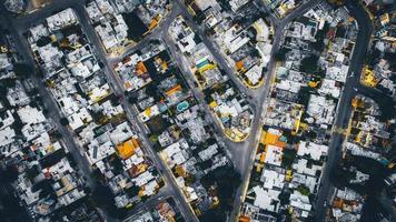 photographie aérienne de la ville