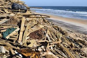 dommages après l'ouragan matthew photo