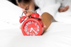 paresseux se réveiller le matin photo
