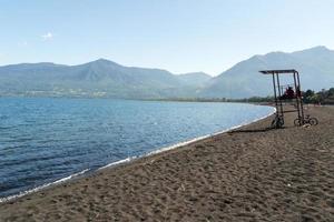 Lac de villarica depuis pucon