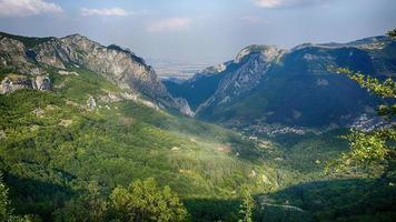 col de montagne bulgare photo