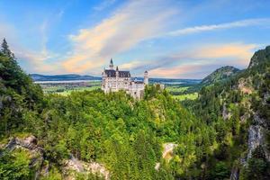 Château de Neuschwanstein, sud-ouest de la Bavière, Allemagne