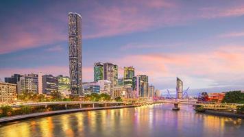 Skyline twilight en Australie