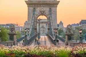 Skyline de Budapest en Hongrie