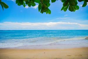 beau fond de plage photo