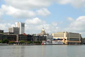 Riverfront à Savannah, Géorgie