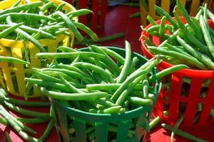 haricots verts à vendre photo