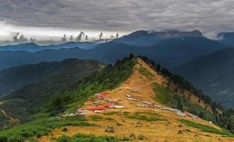 Montagnes du village de Masal dans la ville de Mazandaran