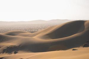 désert en saison estivale