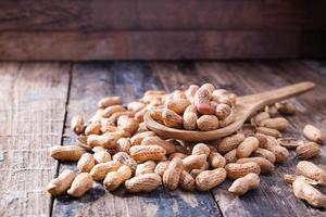 cacahuètes en coque