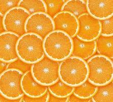 tranches d'orange photo