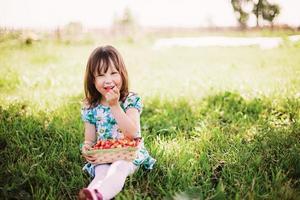 petite fille. photo