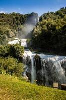 Cascades de Marmore, Italie photo