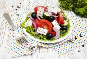 salade grecque fraîche