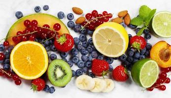 assortiment de fruits photo