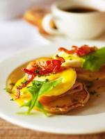 savoureux œufs de petit déjeuner
