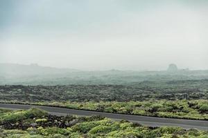 route déserte photo