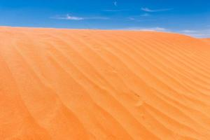 fond de texture de dune de sable photo