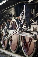 roues de train à vapeur