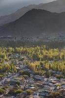 vue de la ville de leh photo