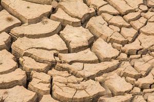 texture de fond de terre sèche et craquelée photo