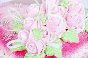 gâteau gros plan photo