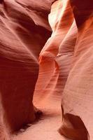 les murs du canyon antilope inférieur photo