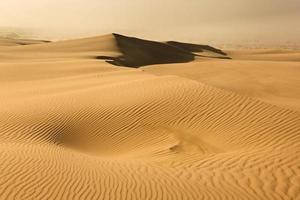 tempête de poussière de dunes de sable photo